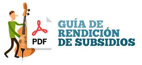 Guía de rendición de subsidios